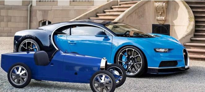 Это авто создали в честь игрушечных электрокаров, которые выпускались компанией с 1927 по 1936 года