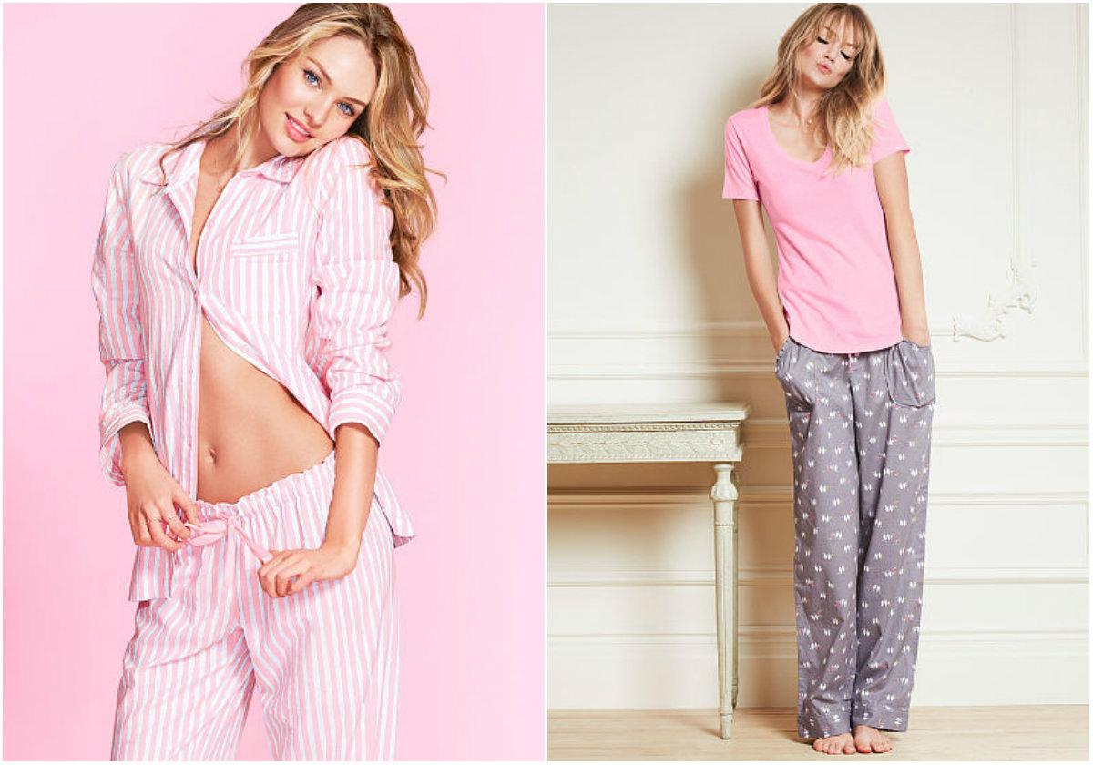 Пижама - теплая альтернатива нижнему белью