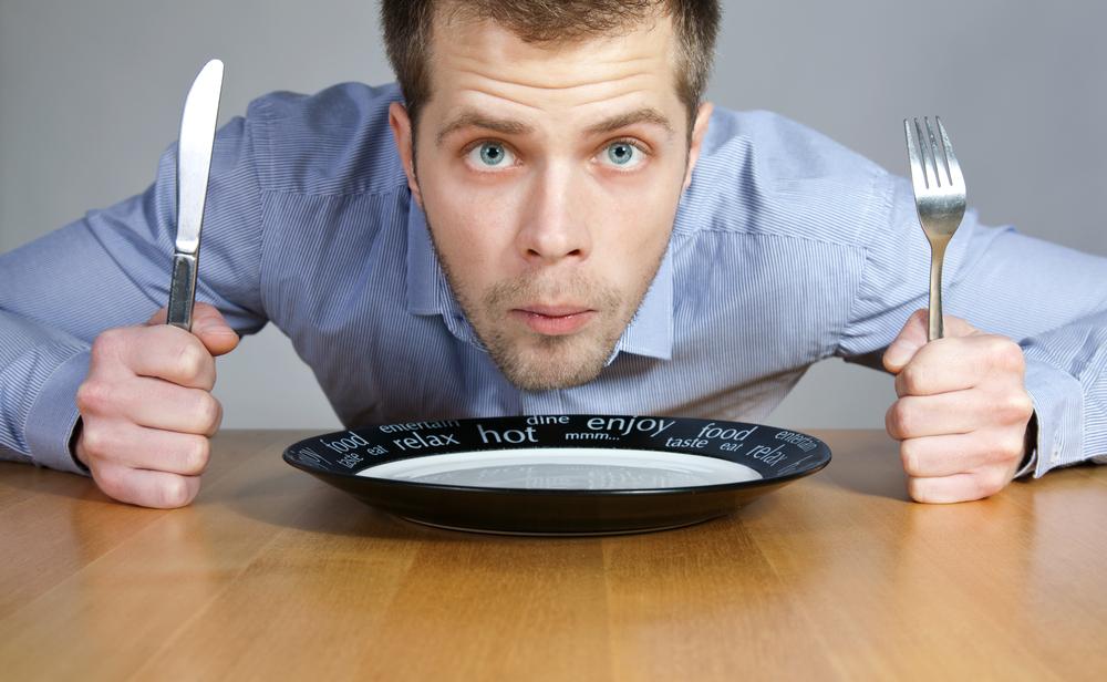 Ешь из маленькой посуды