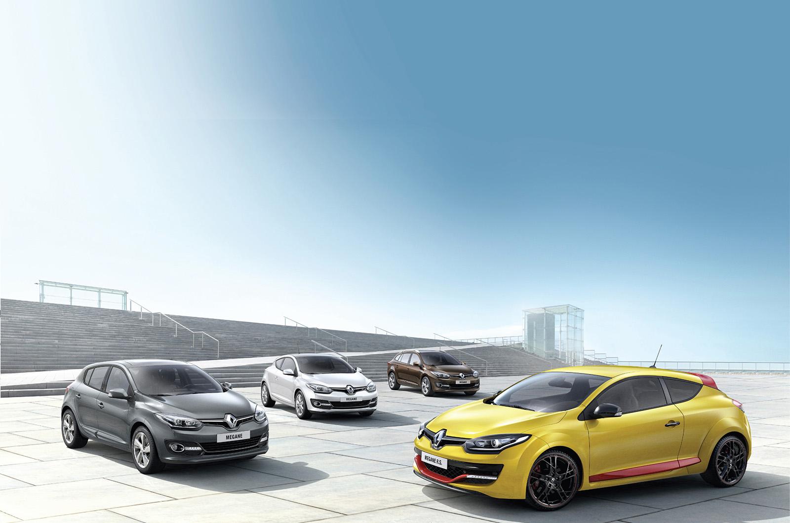 Обновленный Renault Megane покажут на Франкфуртском автосалоне
