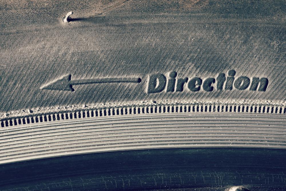 Направление вращения шины