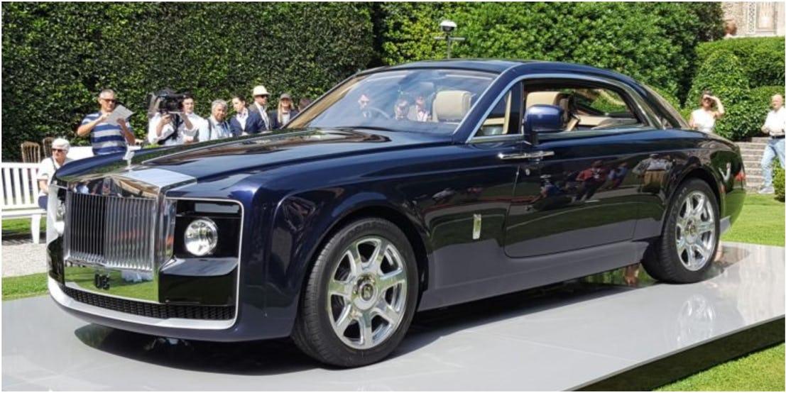 3. Rolls-Royce Sweptail - 12,8 млн долларов