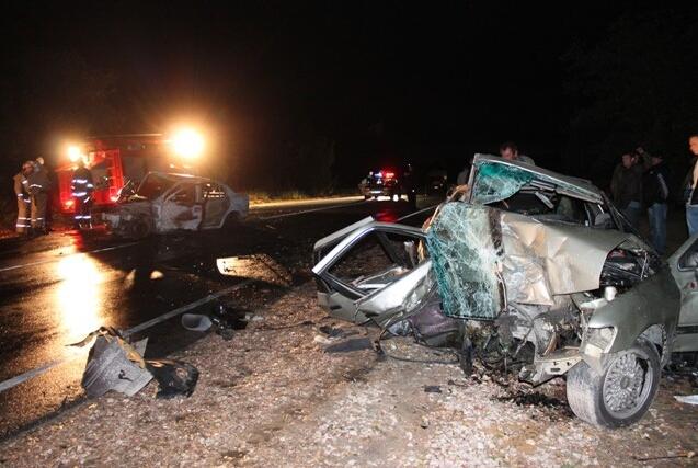 В аварии пострадало 5 человек