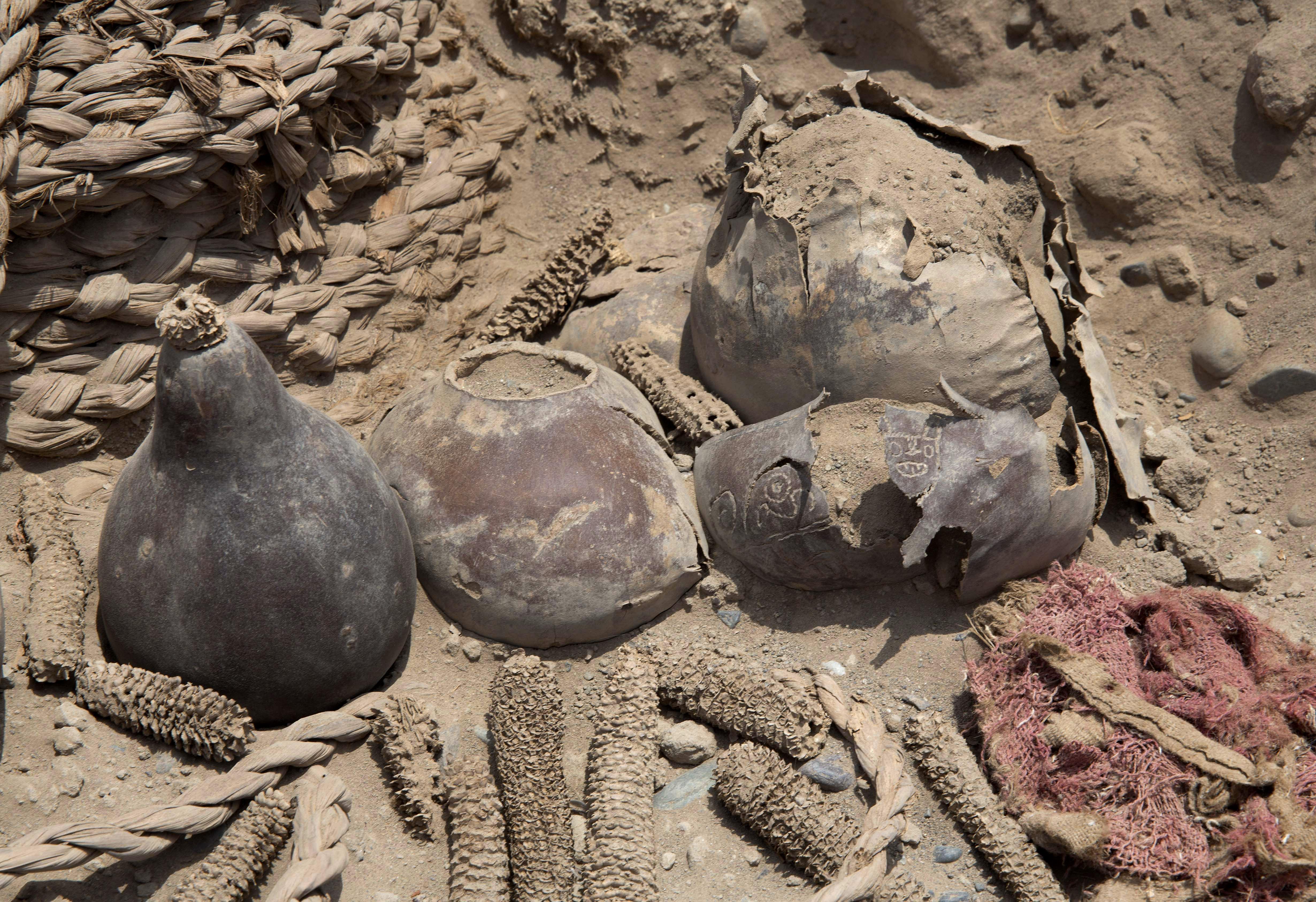 Находки при раскопках