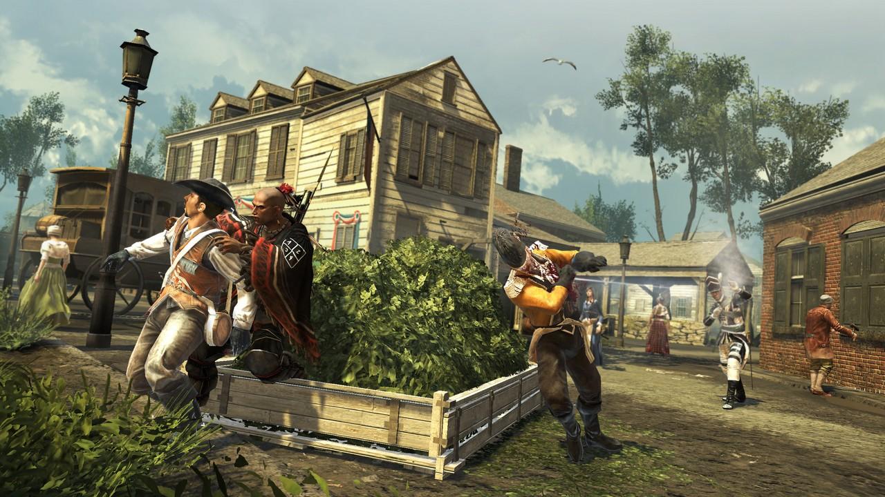 В Assassin's Creed 3 убийство совершаются ради высокой цели