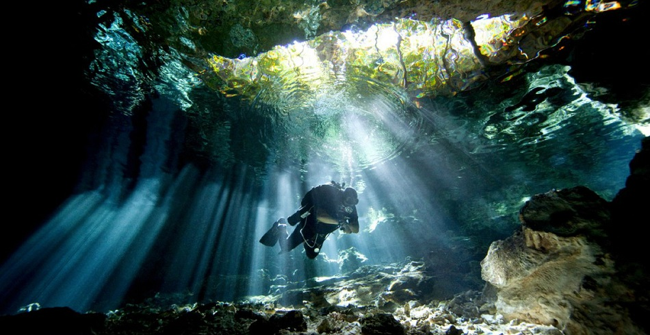 Пещеры у Канкуна - незабываемое место для дайвинга