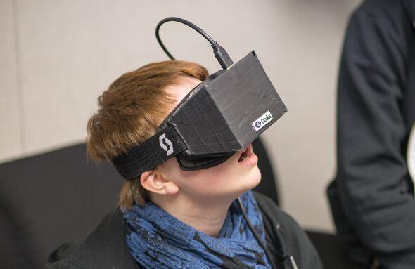 Oculus Rift предназначен для игр