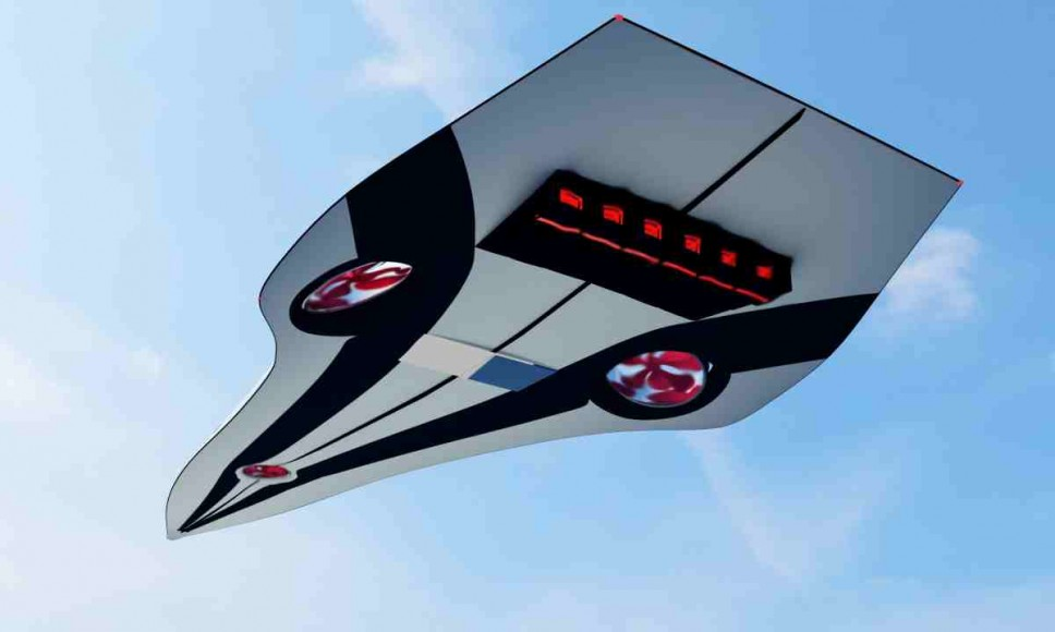 Monaco 2050 будет оснащен реактивными двигателями