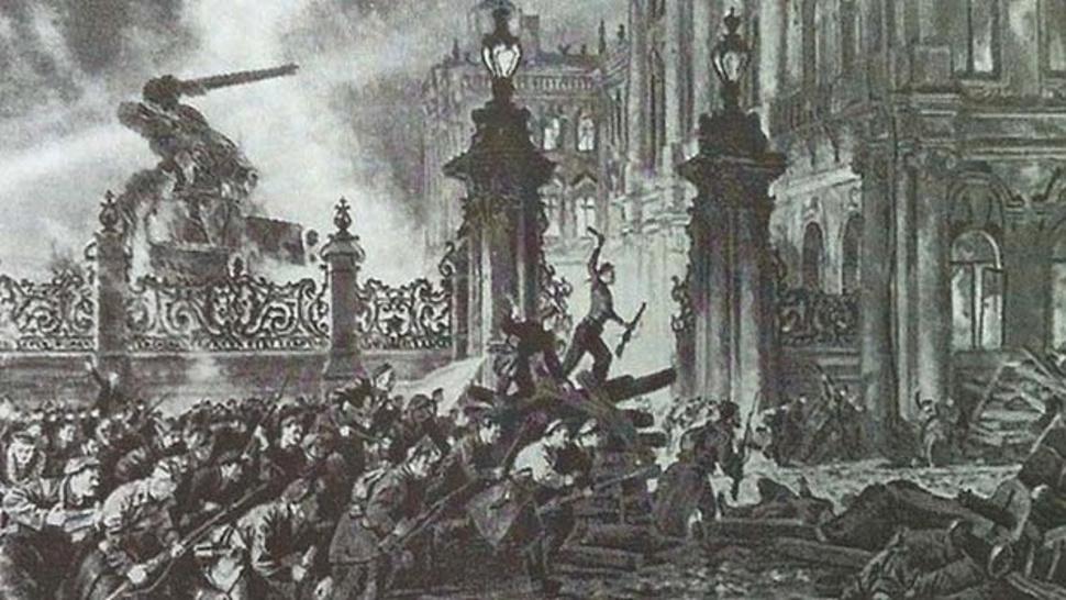Октябрьской революцией руководил Терминатор