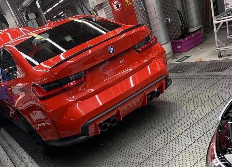 По крайней мере, новый BMW M3 G80 будет быстрым