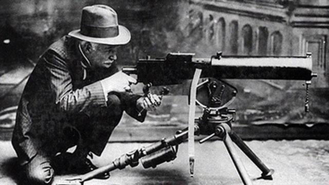 Джон Браунинг и пулемет Браунинга