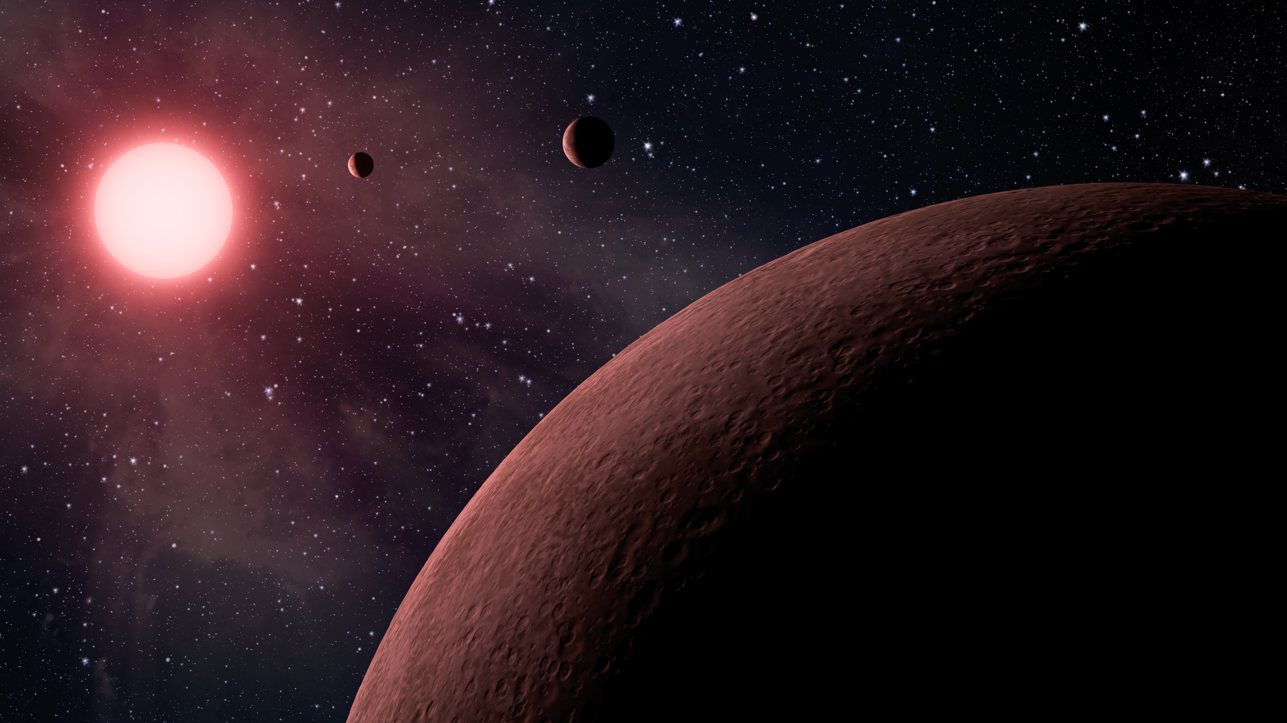 Самые маленькие планеты из другой системы