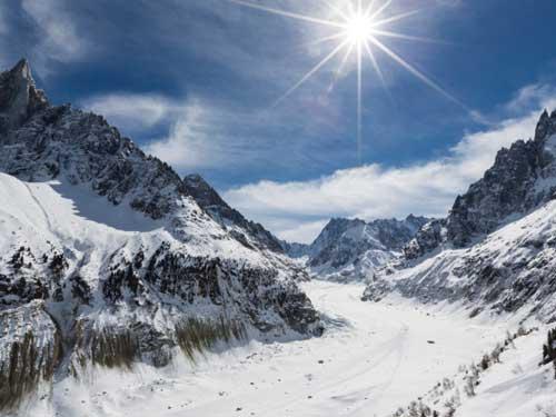 Прокатись на лыжах в Альпах