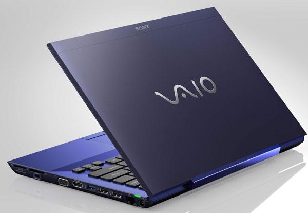 13-дюймовые ноутбуки Sony S Series