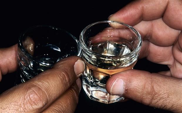 Проигравшие обязаны пить до дна