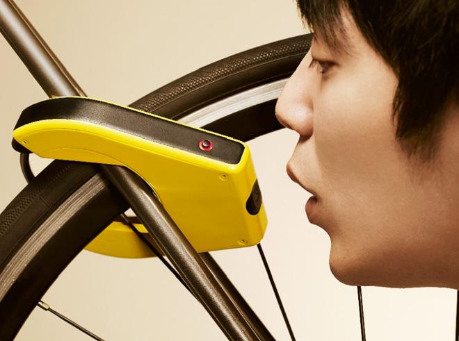 Alcoho-Lock открывается только трезвым велосипедистам