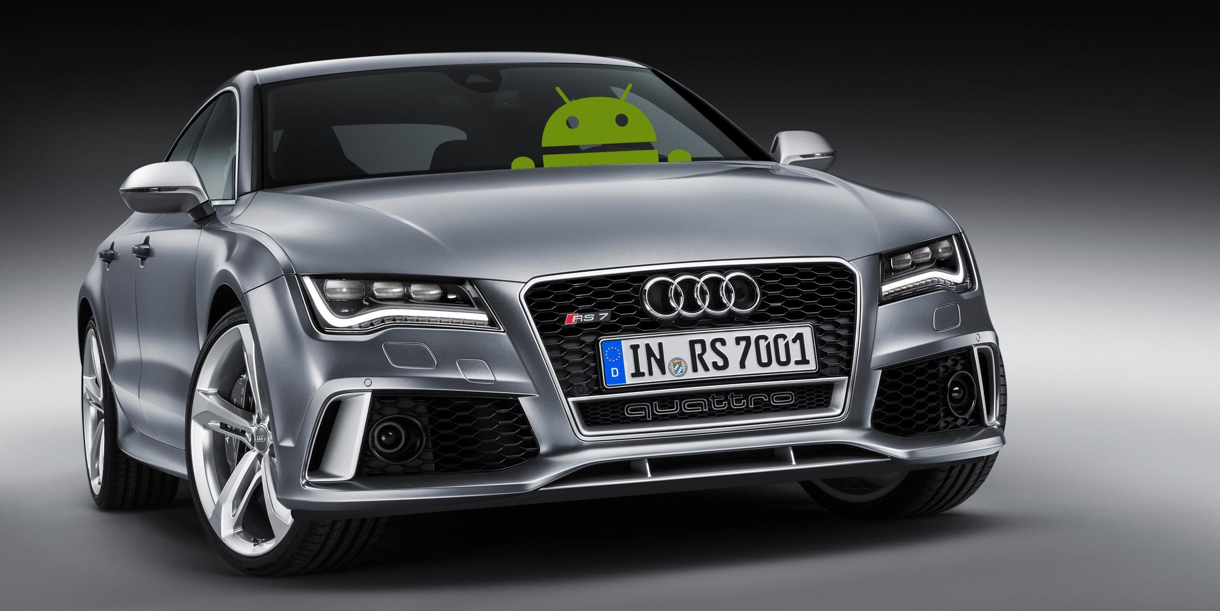 Авто от Audi оборудуют Android