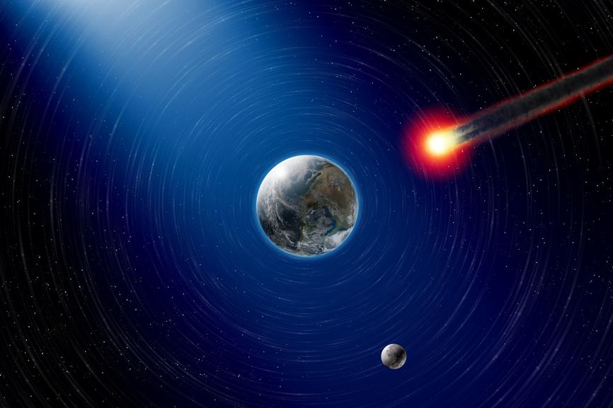 Астероид пролетит в ночь с 5 на 6 марта