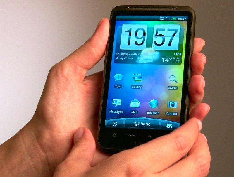 На десятом месте ТОПа — смартфон HTC Desire HD. В июле он был на девятой позиции.
