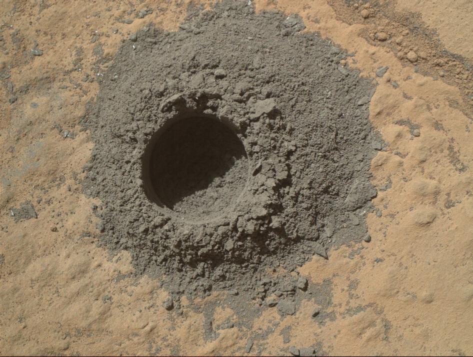 Бурение Марса
