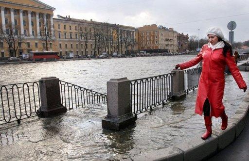 Санкт-Петербург может уйти под воду
