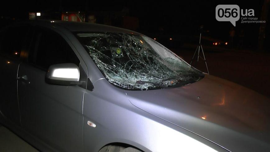 Mitsubishi Lancer после аварии