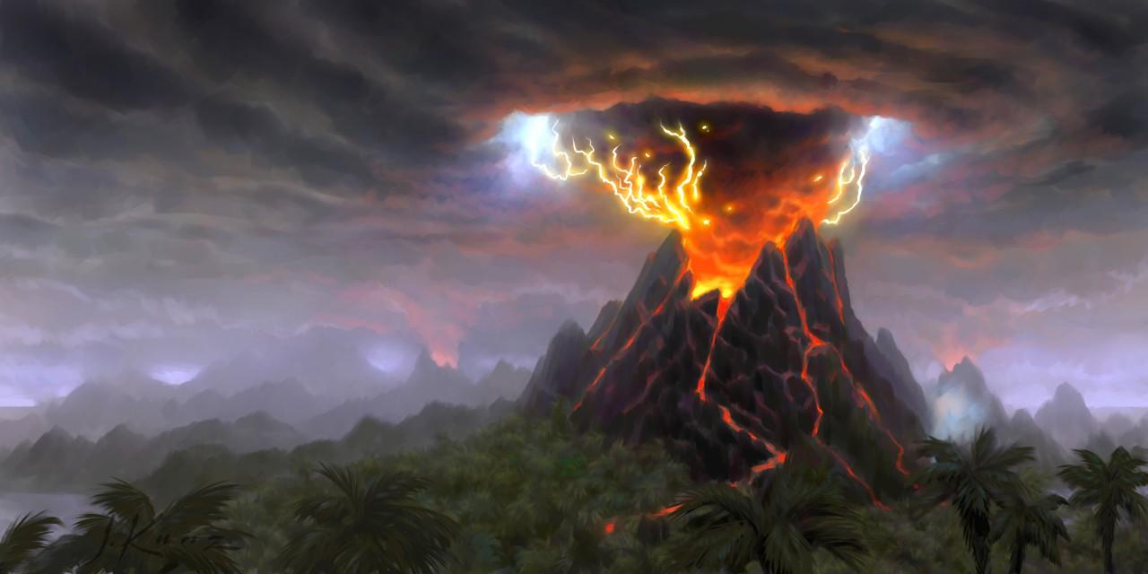 Извержения века: как вулканы вызывают эффект ядерной зимы - ТЕХНО