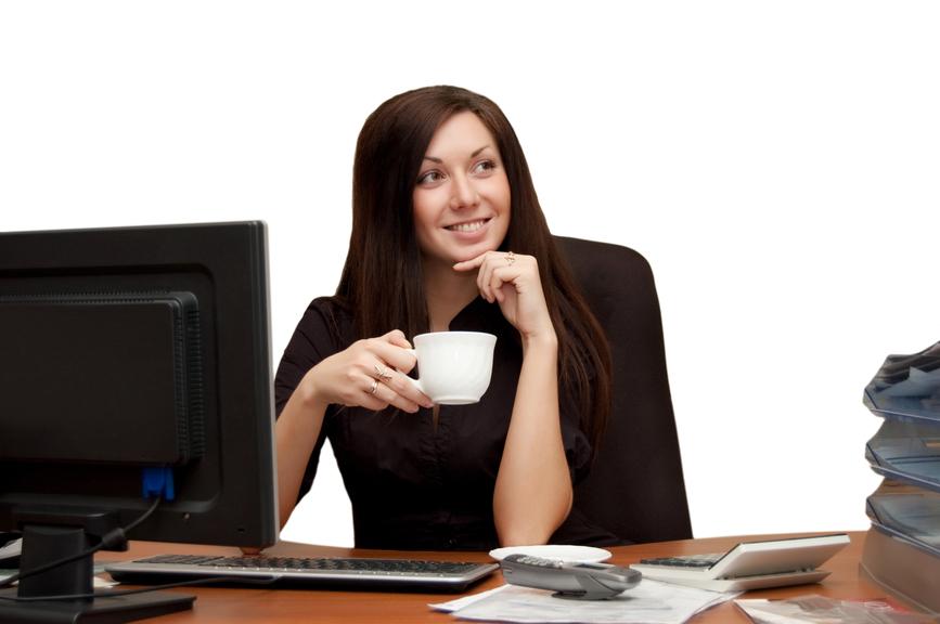 Симпатичные коллеги - еще один из факторов, отвлекающих от работы