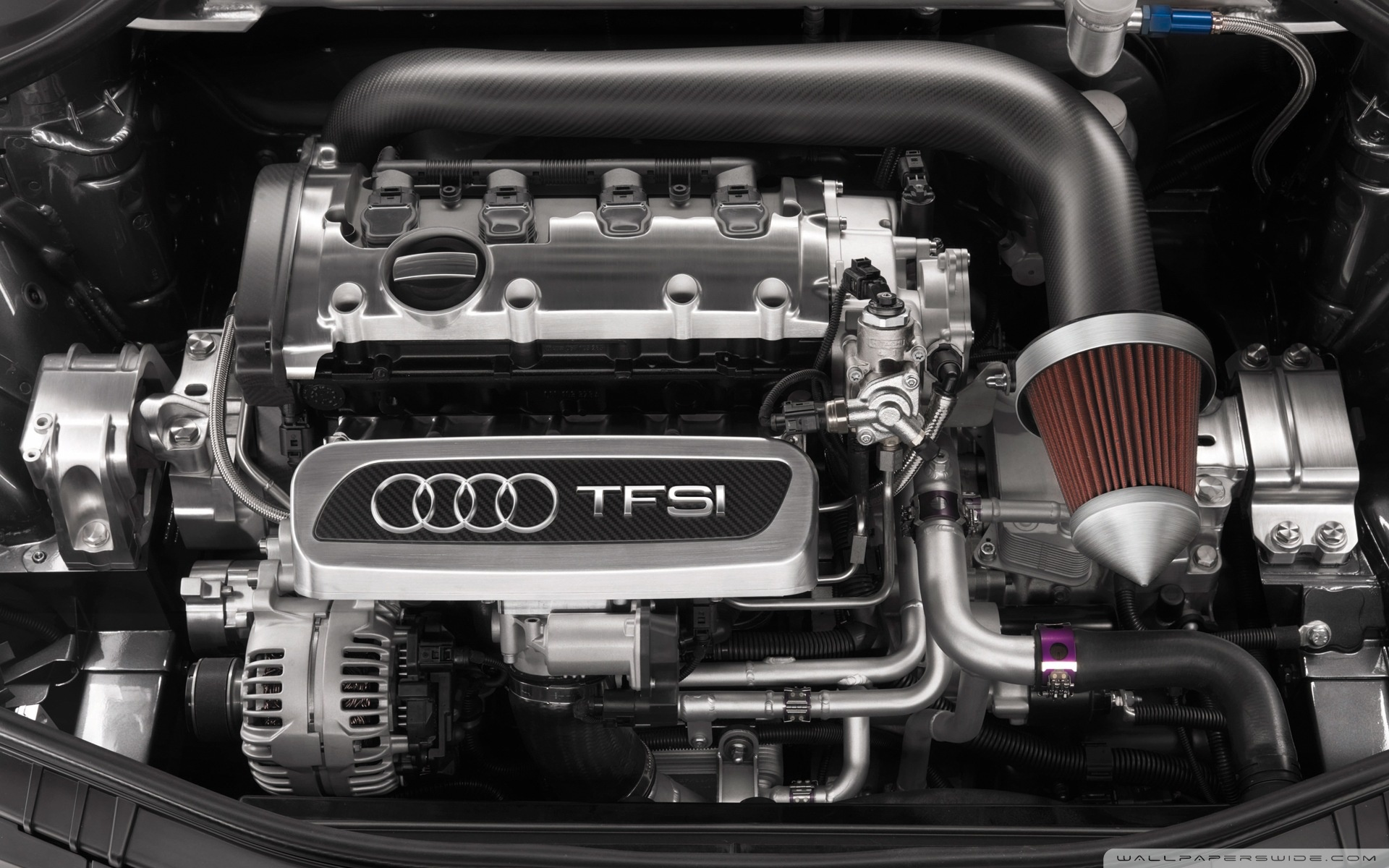 Моторы TFSI впервые использовала на гонках «24 часа Ле Мана»