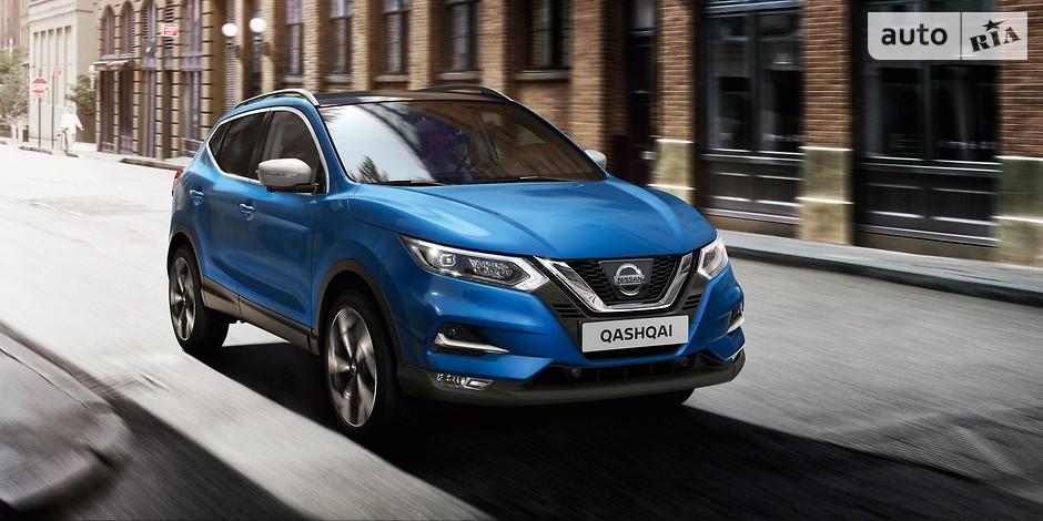 Nissan Qashqai (119 772 проданных авто)