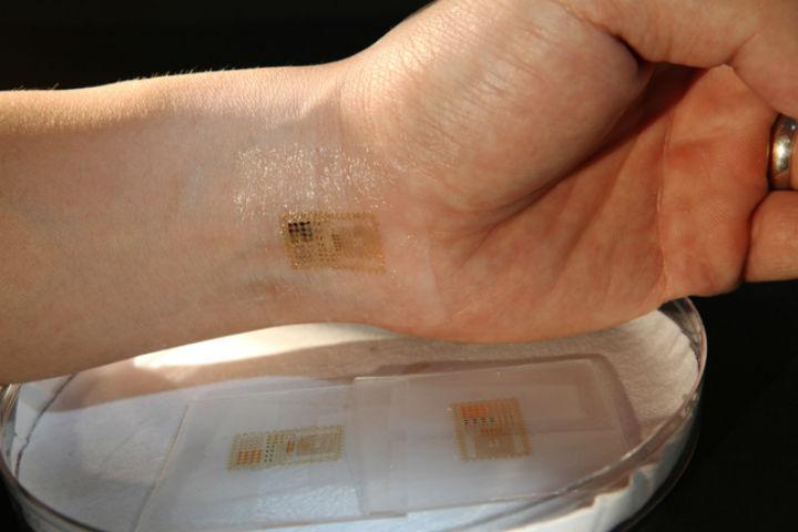 Электронная татуировка решит проблемы паролей