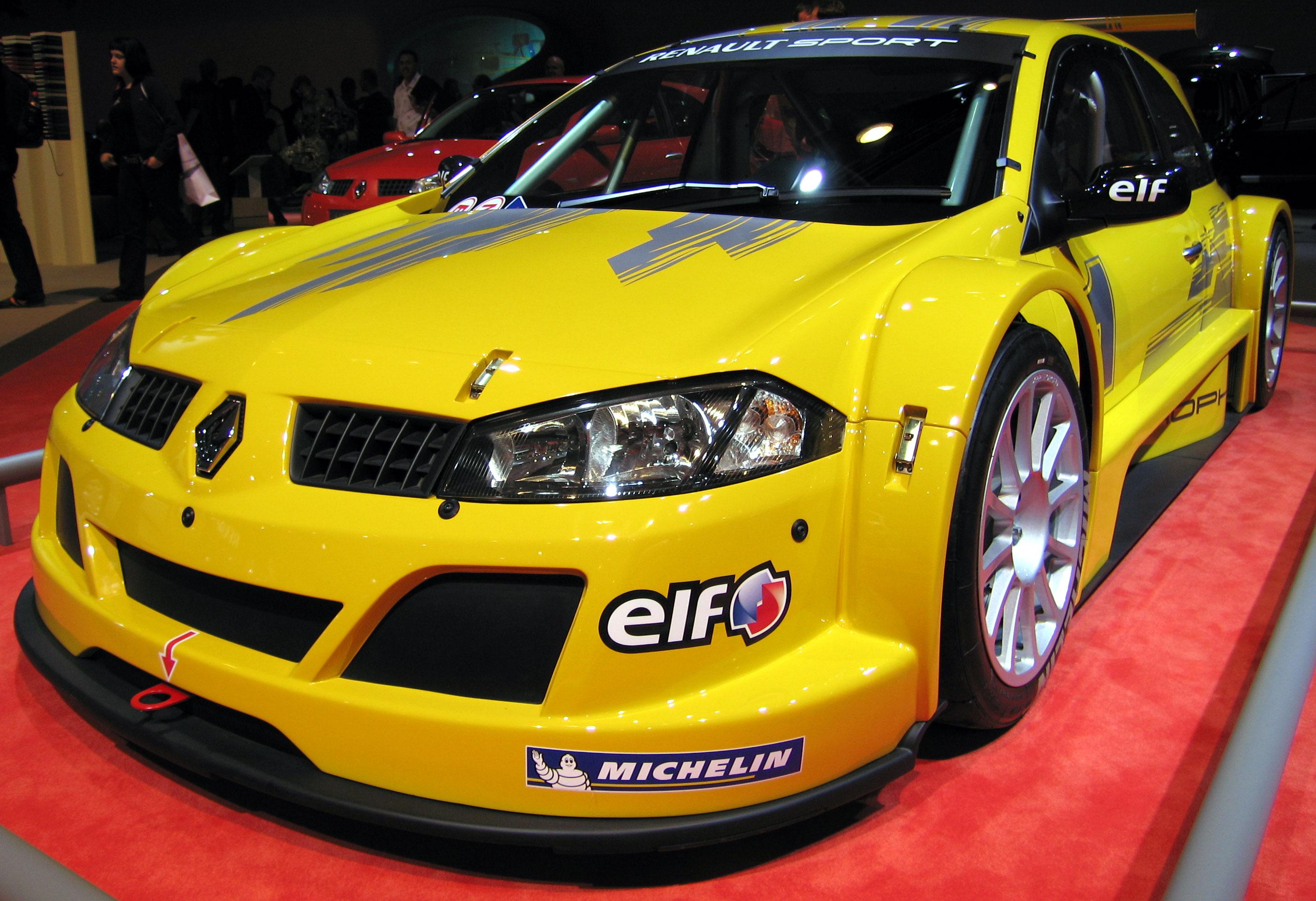 Megane Renault Sport. Гоночная версия компактного французского автомобиля