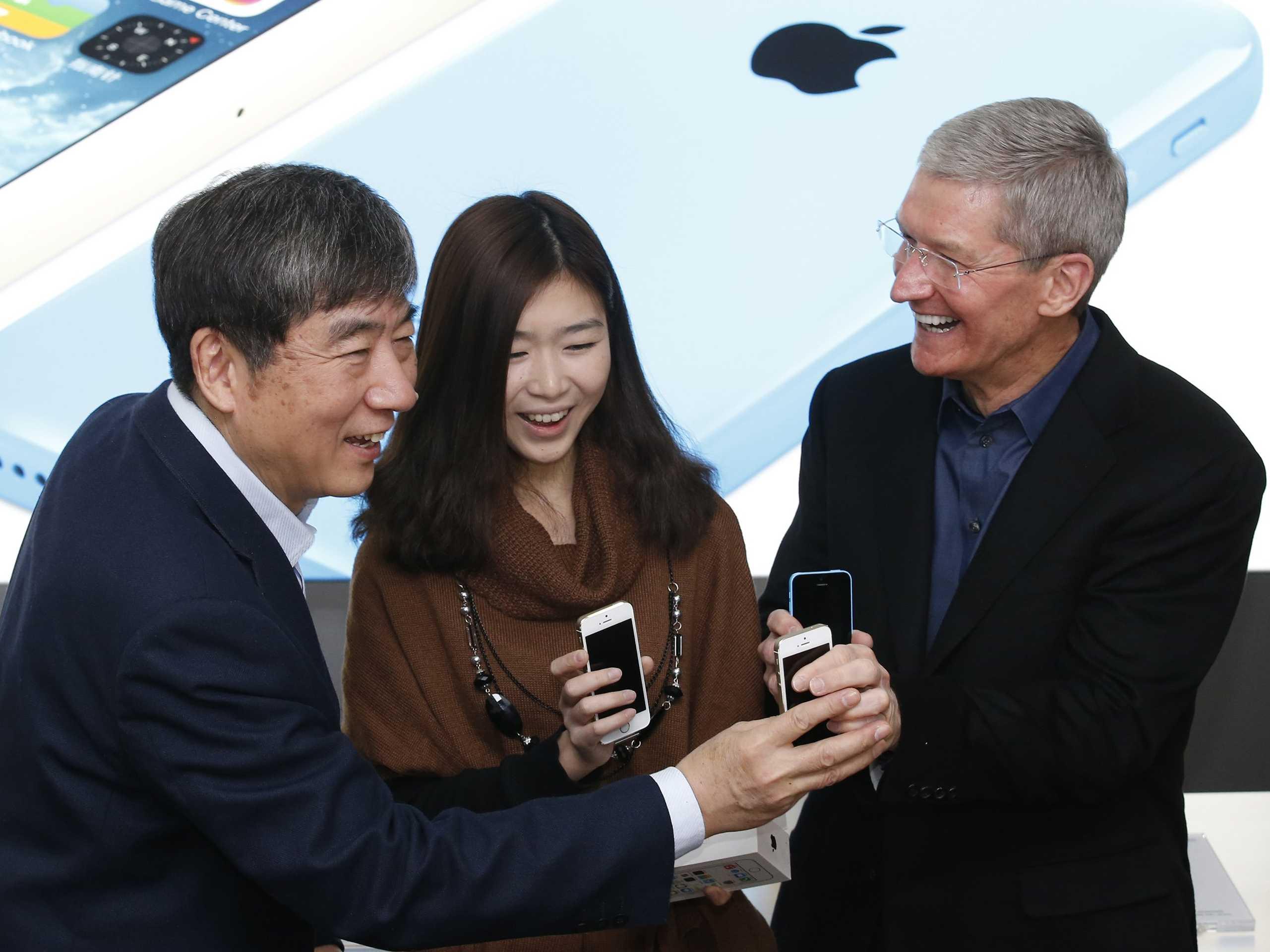 Китай недоволен Apple