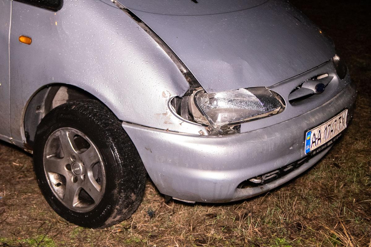 Владелец оставил транспортное средство и сбежал