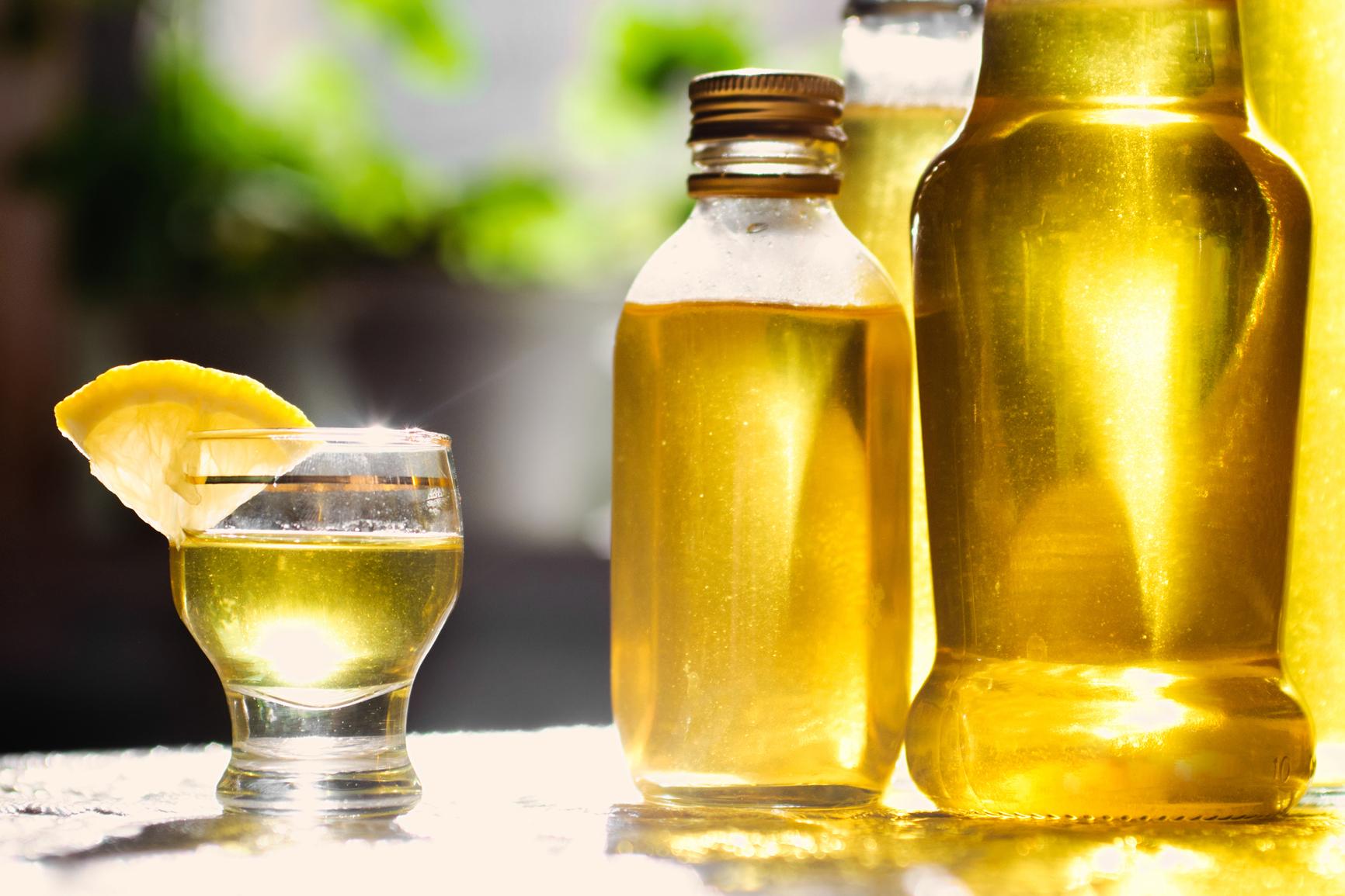 Цитрусовая настойка на спирту в домашних условиях