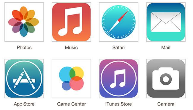 Новые иконки iOS 7