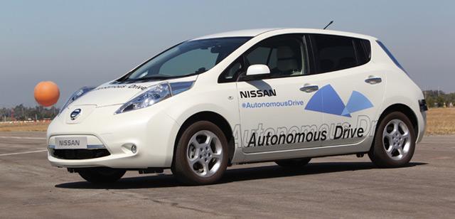 Nissan выпустит автономный авто уже к 2020 году