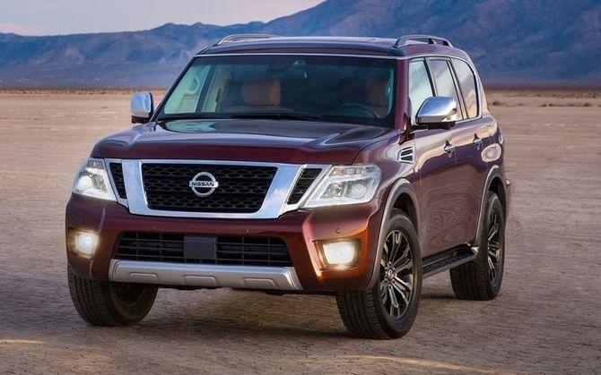 Номинация 4. Худшая экономичность: Nissan Armada