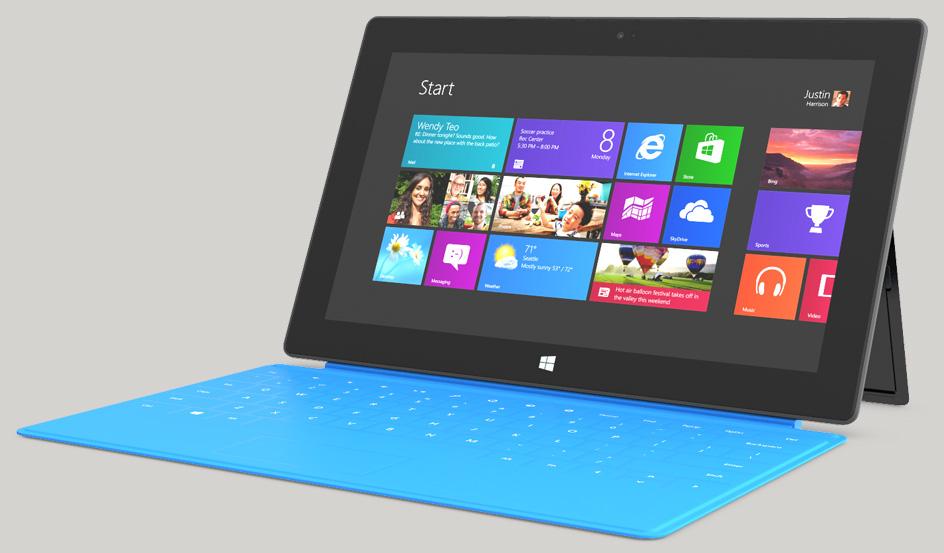 Surface от Microsoft расхватывают как горячие пирожки