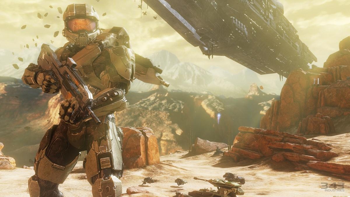 В Halo 4 можно летать на звездолетах или кататься на шагающем танке