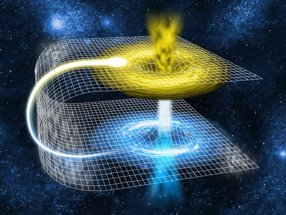 Червоточины — запутавшиеся в черной дыре частицы