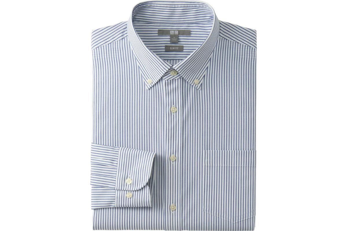 Рубашка Uniqlo Easy Care - 800 гривен