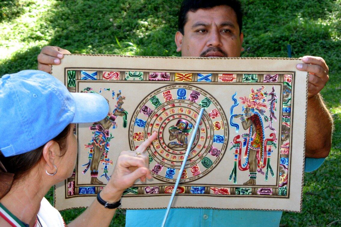 Календарь майя содержит 144000 дней