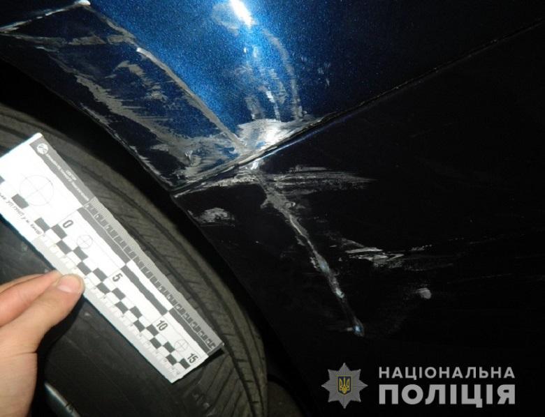 Транспортное средство с множественными повреждениями нашли уже на станции обслуживания