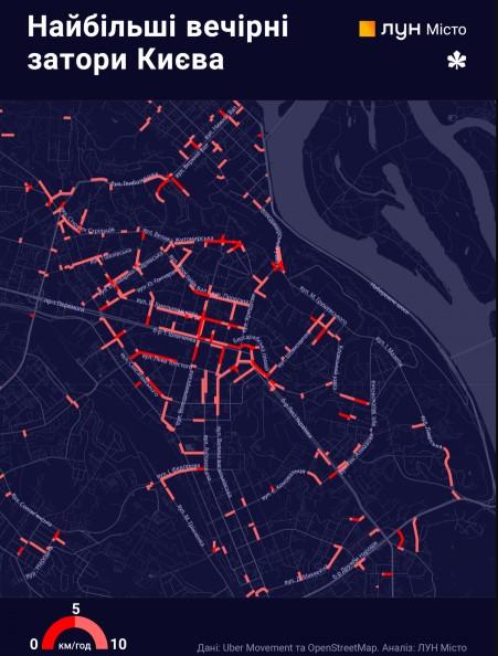 Наиболее проблемные участки отметили на карте