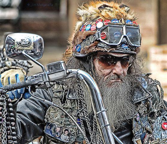 прикольные картинки про байкеров: