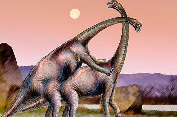 как трахаются динозавры