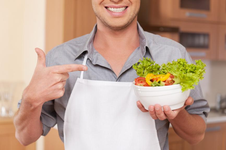 Свежие овощи и фрукты - самый здоровый завтрак (если у тебя нет похмелья)
