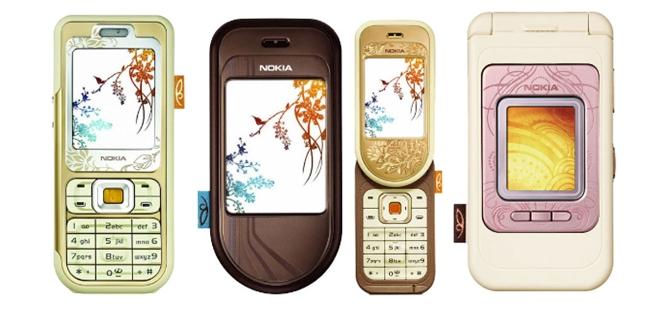 Nokia 7360, 7370 и 7390