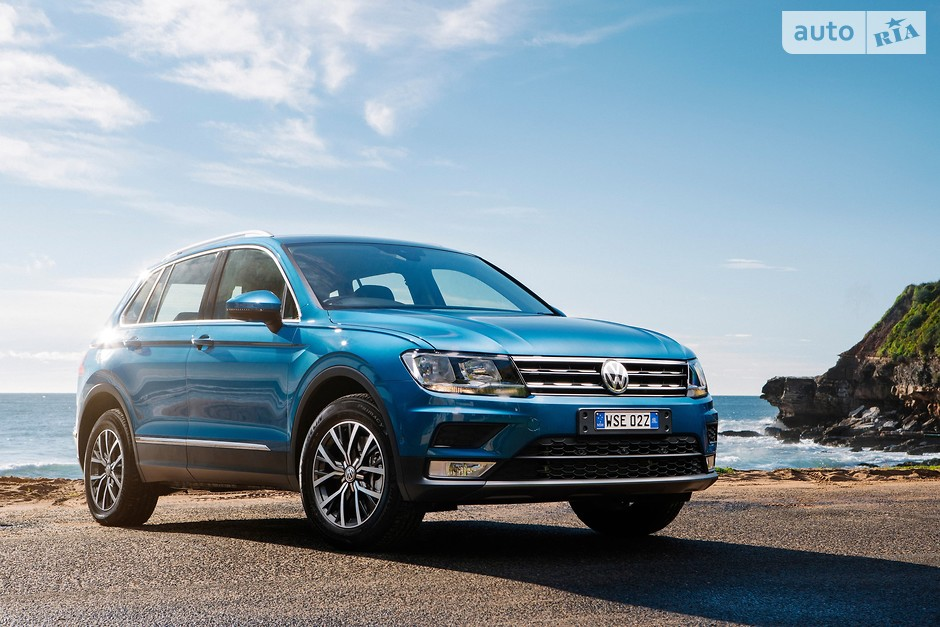 Volkswagen Tiguan (173 058 проданных авто)